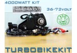 Cyclone Geared Electric Bike Kit 2000watt-4000watt 36volt-72volt with Options