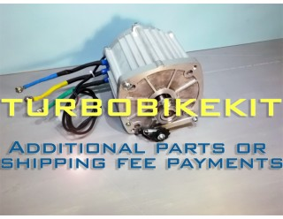 Additional parts or shipping fee payments