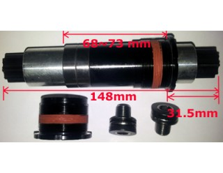 Heavy duty 148mm ISIS BB for frame 68-73mm