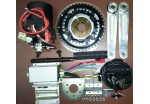 Cyclone 200watt, 250watt, 360watt, 500watt Electric Bike Kit build in controller at 24volt-Options