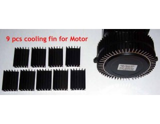 Cooling fins 9pcs for Cyclone geared Motors